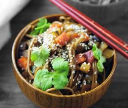 Otsu Salat aus Soba Nudeln