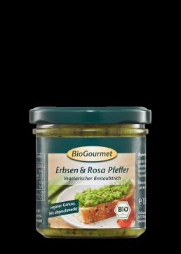 BioGourmet Brotaufstrich Erbsen & Rosa Pfeffer