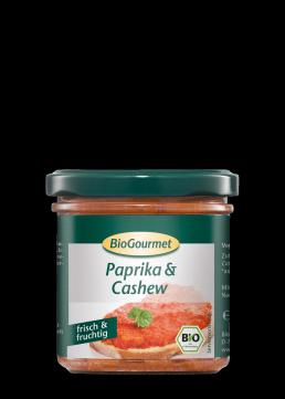 BioGourmet Brotaufstrich Paprika & Cashew
