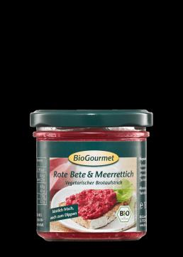 BioGourmet Brotaufstrich Rote Bete & Meerrettich