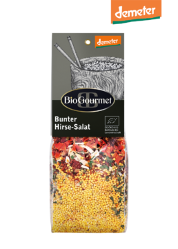 BioGourmet Bunter Hirse-Salat demeter