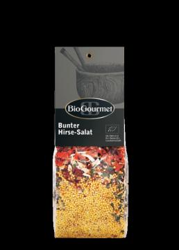 BioGourmet Bunter Hirse-Salat