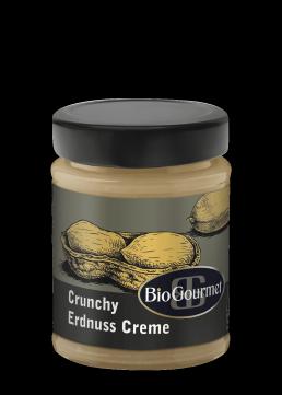 BioGourmet Erdnuss Creme Crunchy