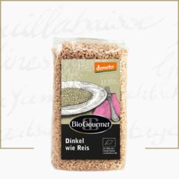 BioGourmet Dinkel wie Reis demeter