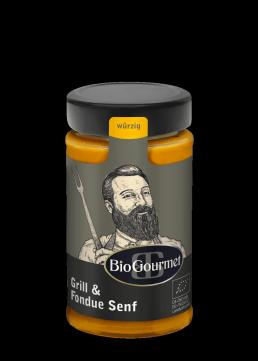 BioGourmet Grill und Fondue Senf