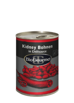 BioGourmet Kidney Bohnen in Chilisauce