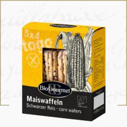 BioGourmet Maiswaffeln schwarzer Reis