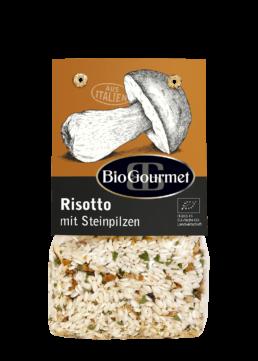 BioGourmet Risotto mit Steinpilzen