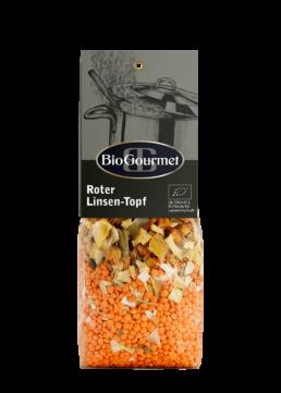 BioGourmet Roter Linsen-Topf Fertigmischung