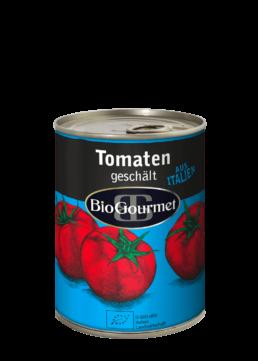 BioGourmet Tomaten geschält in der Dose
