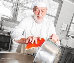 In der Bäckerei von HUOBER BREZEL 3