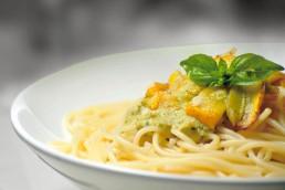 BioGourmet Rezept Spaghetti mit Spargelcreme