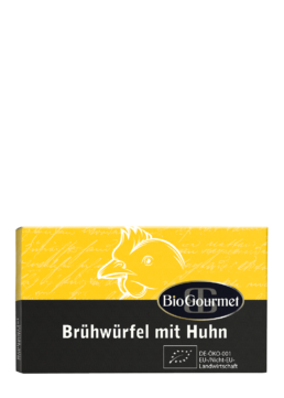 BioGourmet Brühwürfel mit Huhn