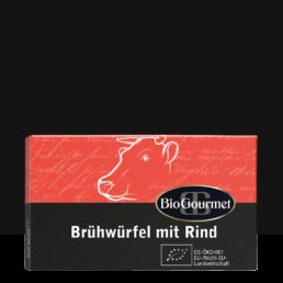 BioGourmet Brühwürfel mit Rind