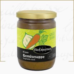 BioGourmet klare Gemüsesuppe hefefrei 350g