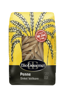 BioGourmet Penne Dinkel Vollkorn aus Italien