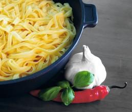 BioGourmet Rezept Pasta-Pfanne mit Fettuccine