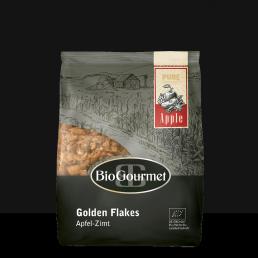 BioGourmet Golden Flakes Apfel-Zimt