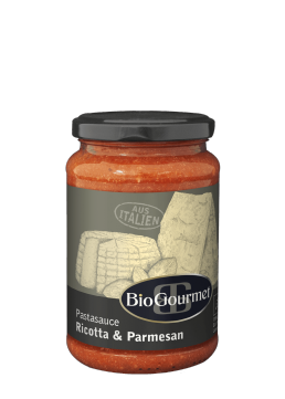 BioGourmet Pastasauce Ricotta & Parmesan
