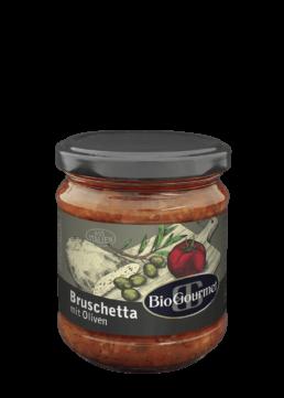 BioGourmet Bruschetta mit Oliven