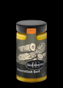 BioGourmet Meerrettich Senf