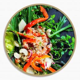 BioGourmet Rezept Buchweizen-Bulgur-Salat Vorschau