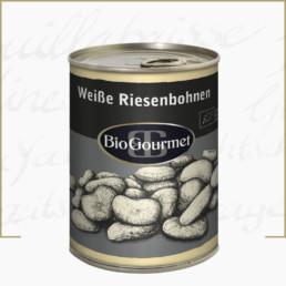 BioGourmet Weiße Riesenbohnen in der Dose