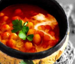 BioGourmet Rezept Veganes Chana Masala - Kichererbsen-Curry