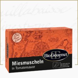 BioGourmet Bio-Miesmuscheln in Tomatensauce