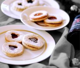 BioGourmet Rezept Spitzbuben mit Marmelade und Mandeln