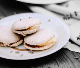 BioGourmet Rezept Original französische Lavendel-Macarons