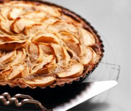 Saftige Apfel-Maronen-Tarte BioGourmet Rezept