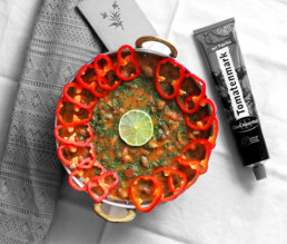 Frischer türkischer Bohneneintopf mit Koriander BioGourmet Rezept