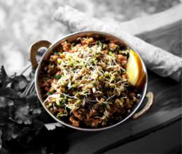 Glutenfreier Taboulé-Salat aus Buchweizen-Bulgur BioGourmet Rezept