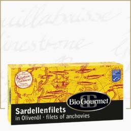 BioGourmet Sardellenfilets in Olivenöl Bio