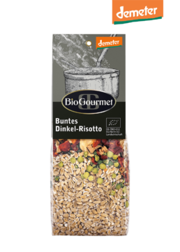 BioGourmet Buntes Dinkel-Risotto demeter