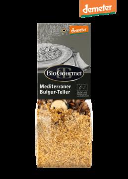 BioGourmet Mediterraner Bulgur-Teller demeter
