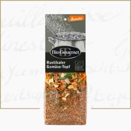 BioGourmet Rustikaler Gemüse-Topf demeter