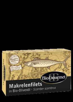 BioGourmet Makrelenfilets in Bio-Olivenöl