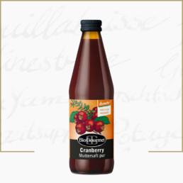 BioGourmet Cranberry Muttersaft demeter