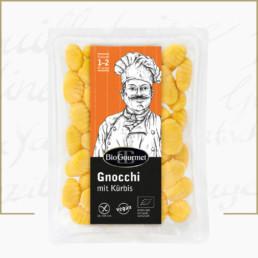 BioGourmet Gnocchi mit Kürbis vegan glutenfrei