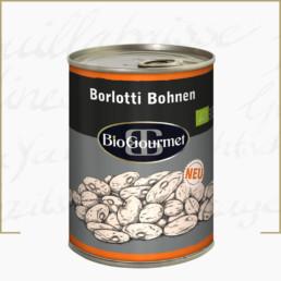 BioGourmet Borlotti Bohnen in der Dose