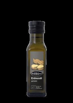 BioGourmet Erdnussöl geröstet Bio
